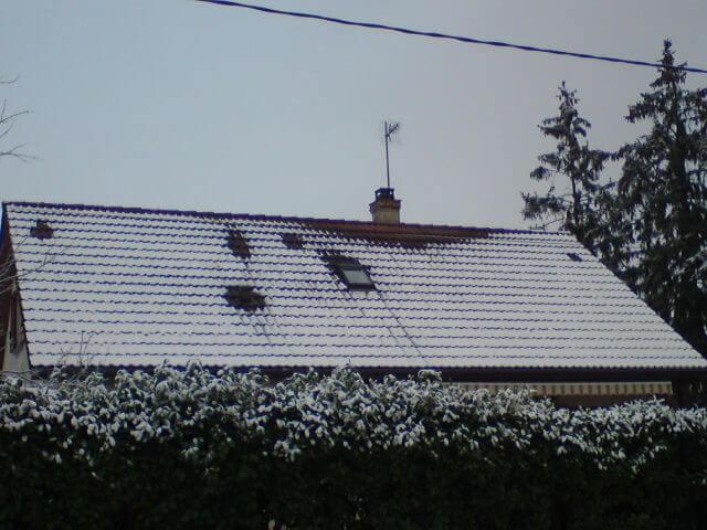 toit neige